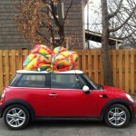 Mini. We use our Mini once or twice a week for short trips. We chose a Mini for it's wonderfully small size. Small is beautiful.